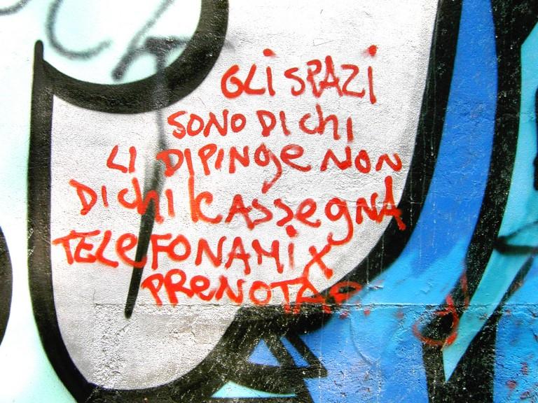 /var/cache/html/kit/html/wp content/uploads/1453886520 Gli Spazi Sono Di Chi Li Dipinge Non Di Chi Le Assegna Telefonami X Prenotare 768x576