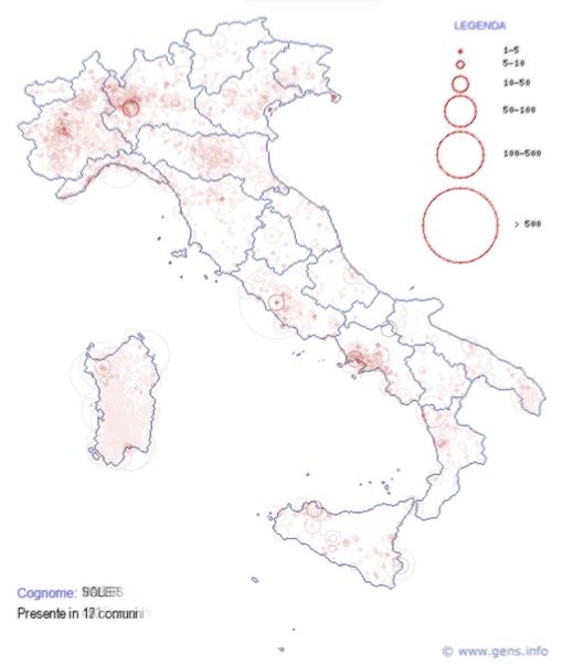 Nachnamen italienische Sprechen Sie