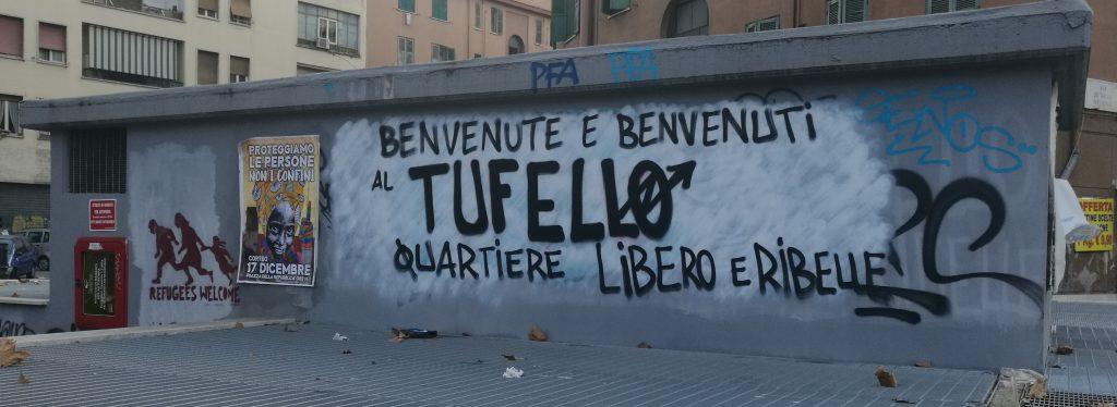 Benvenute e benvenuti al Tufello (ScriMuRo)