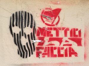 Stencil, San Lorenzo, Rom