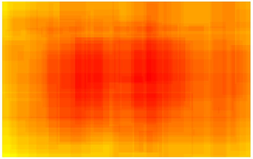 Domäne POLITIK - Heatmap - bildgraphisches Zeichen: Ikone