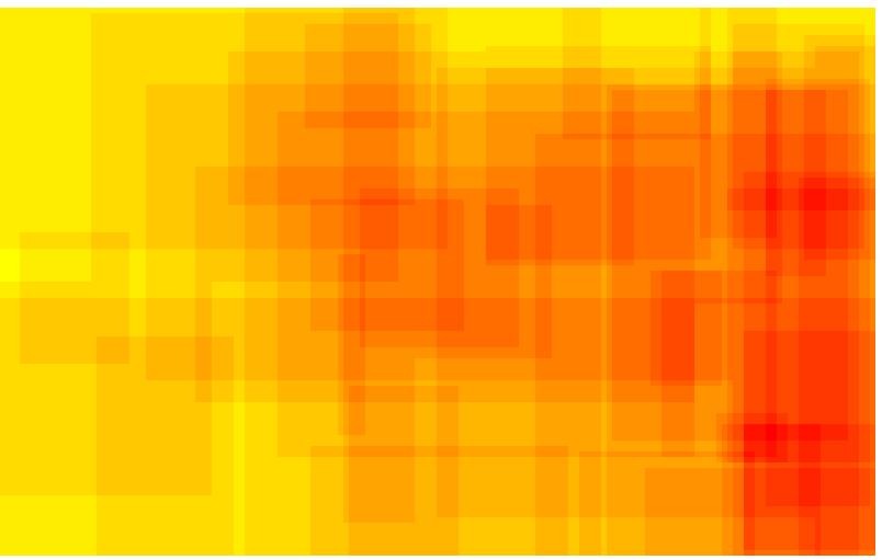 Domäne POLITIK - Heatmap - bildgraphisches Zeichen: Hakenkreuz