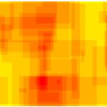 Subdomäne POLITIK LINKS - Heatmap - bildgraphisches Zeichen: Fünfzackiger Stern
