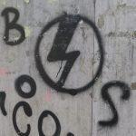 Beispiel für den Zeichentyp 'Ideogramm' - 'Gruppensymbol - Blocco Studentesco'