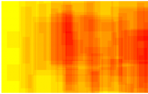 ScriMuRo - Heatmap - bildgraphisches Zeichen: Fascio Littorio