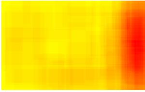 ScriMuRo - Heatmap - bildgraphisches Zeichen: Movimento Autonomo e Autoorganizzato