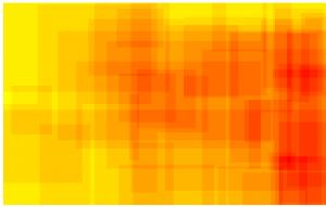 ScriMuRo - Heatmap - bildgraphisches Zeichen: Hakenkreuz